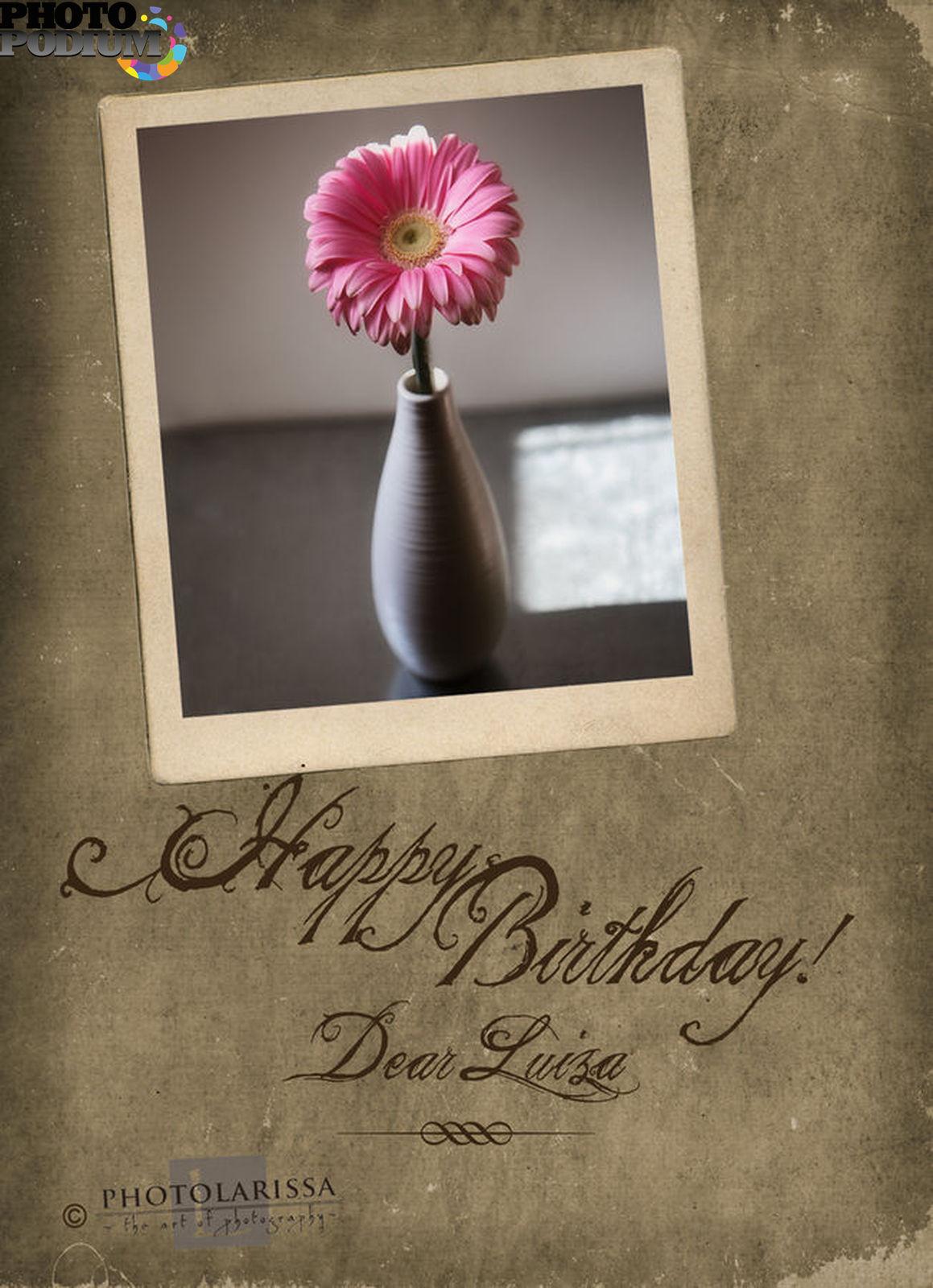 Поздравления днем рождения луиза