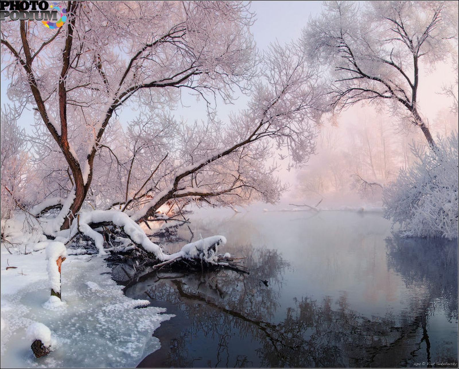 Зима пейзаж фото 2