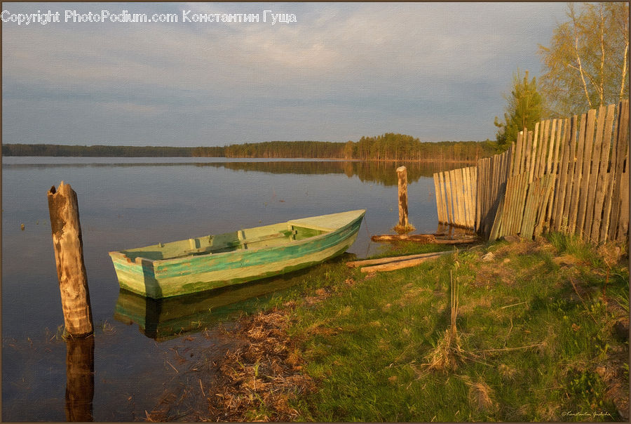Boat, Dinghy, Park Bench, Rowboat, Vessel, Canoe, Dock