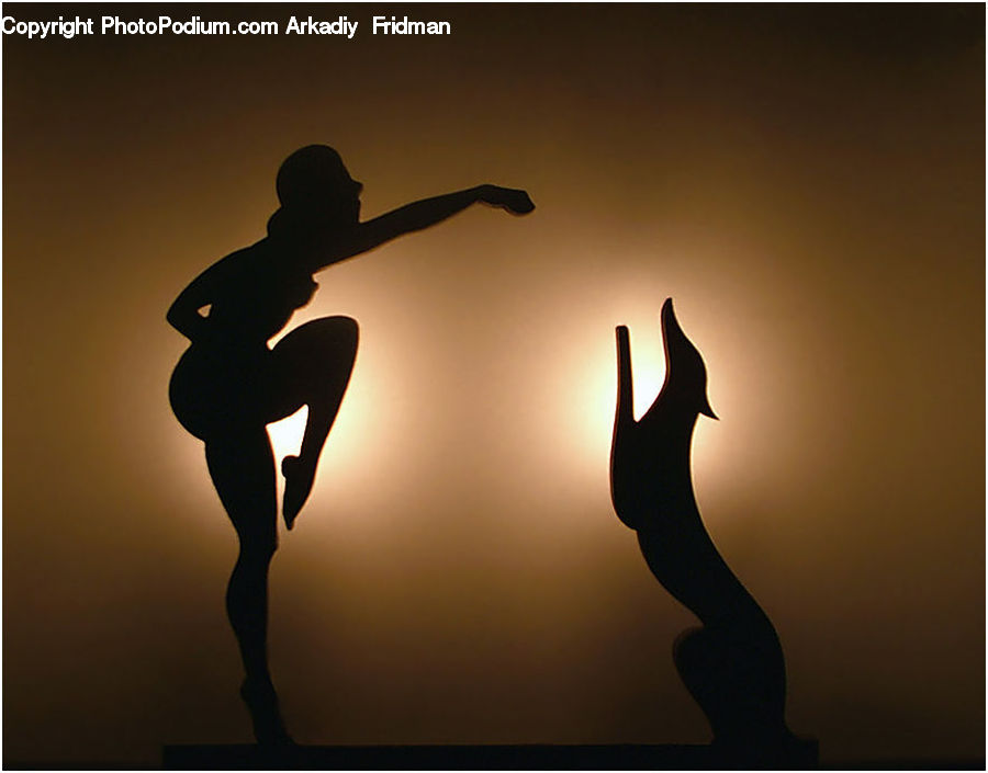 People, Person, Human, Dance, Dance Pose, Silhouette, Ballerina