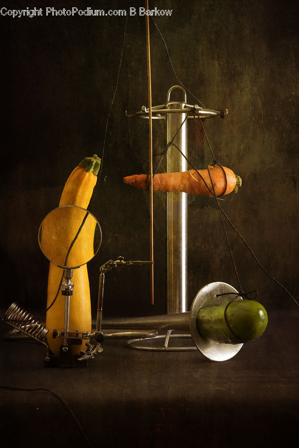 Propeller, Brass Section, Flugelhorn, Horn, Musical Instrument, Fruit, Quince