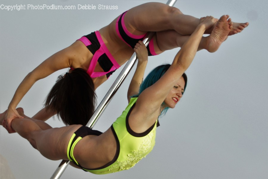 Human, People, Person, Acrobatic, Pole Vault
