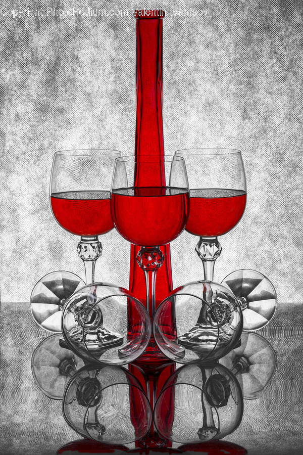 Glass, Chair, Furniture, Goblet, Art