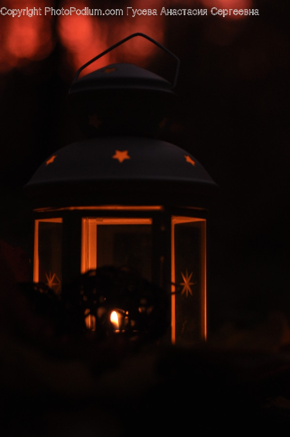 Fire, Candle, Light, Gazebo, Fireplace