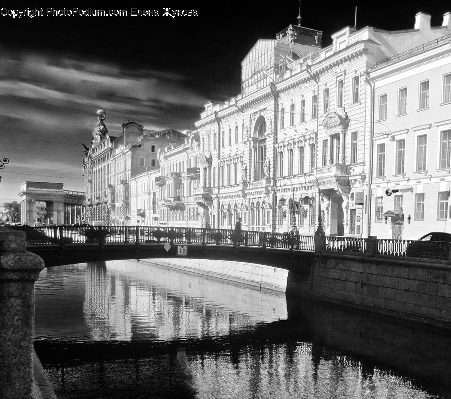 Water, Outdoors, Canal, Building, Architecture
