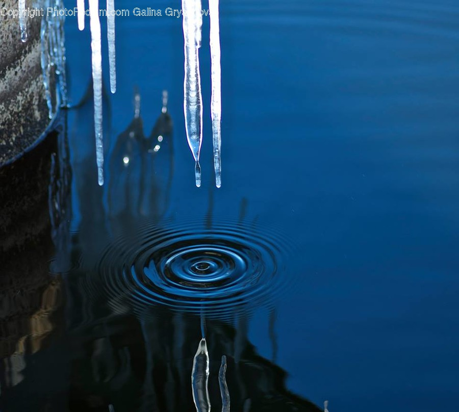 Outdoors, Water, Ripple, Nature, Ice