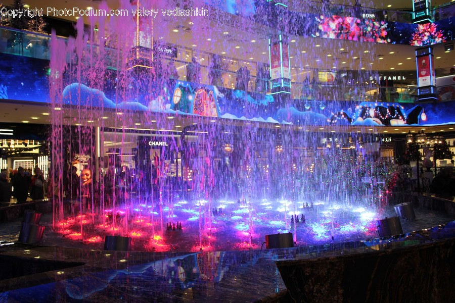 Water, Person, Human, Fountain, Stage