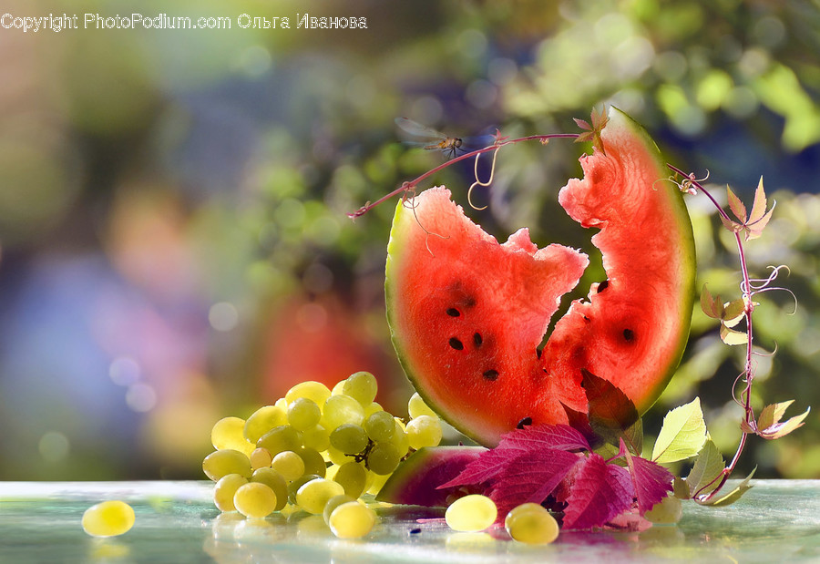 Plant, Fruit, Food, Watermelon, Grapes