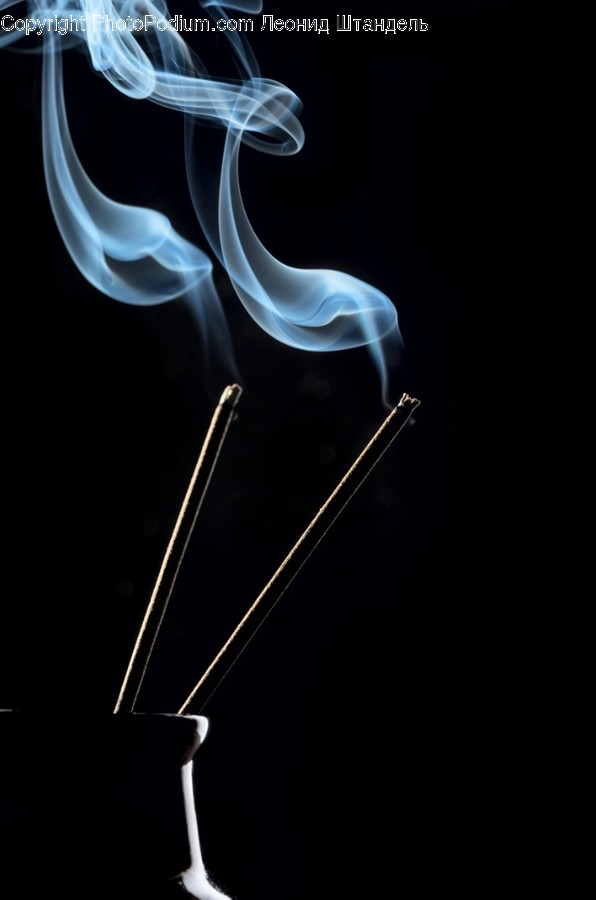 Incense, Smoke