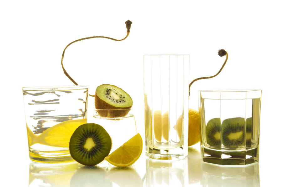 Plant, Food, Kiwi, Fruit, Glass