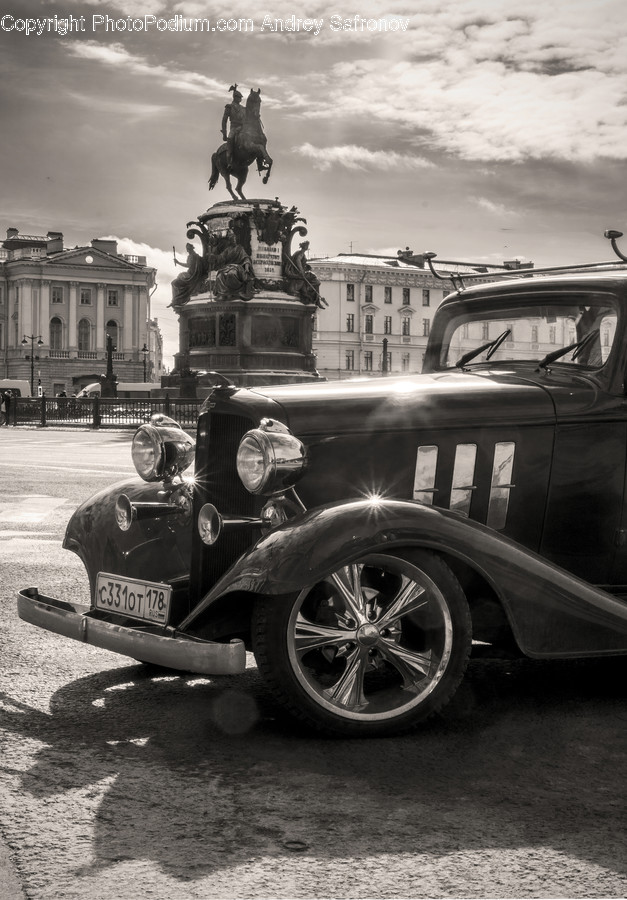 Vehicle, Antique Car, Model T, Transportation, Car