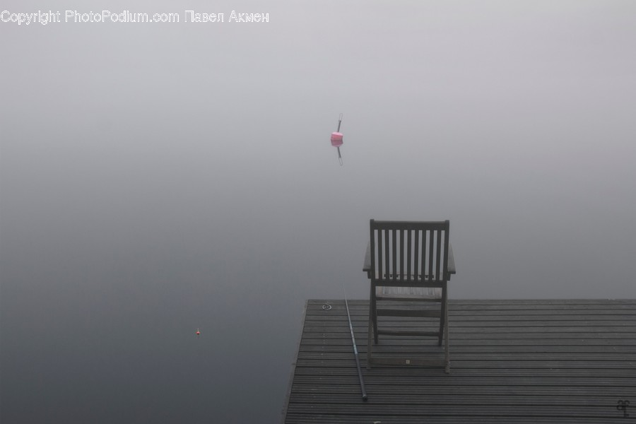 Nature, Chair, Furniture, Fog, Weather
