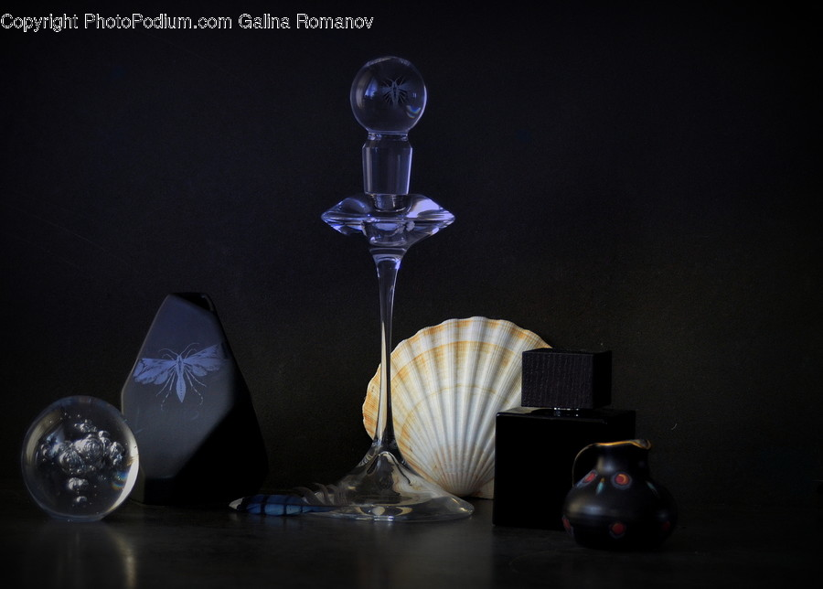 Glass, Lamp, Goblet, Crystal, Animal