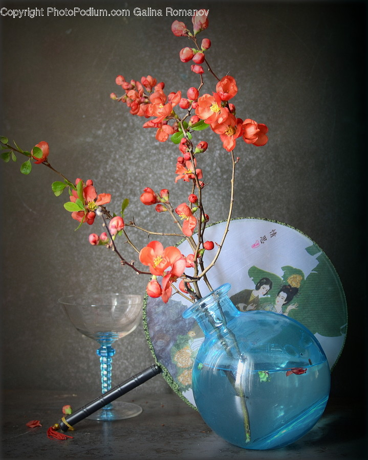 Ornament, Pottery, Jar, Blossom, Flower Arrangement