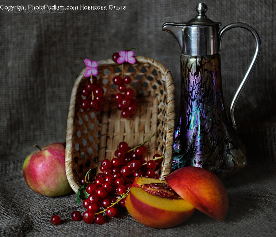 Plant, Fruit, Food, Apple, Jug