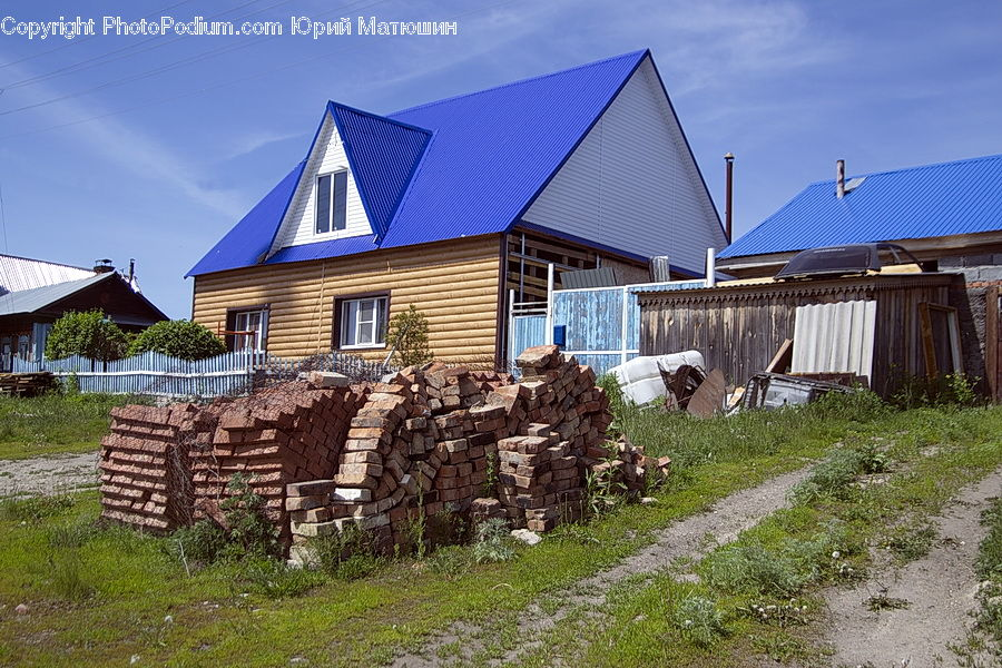Building, Cottage, Housing, House, Hut, Shelter, Stone Wall