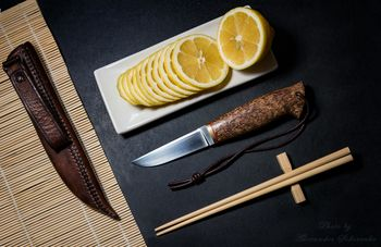 Hand made knife