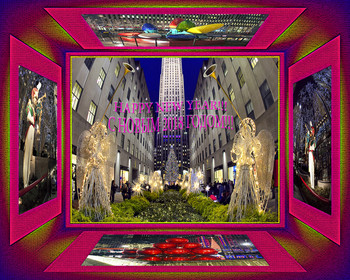New York City.Rockefeller Center.